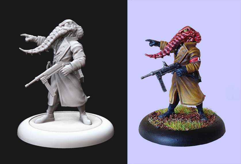 Achtung Cthulhu wargaming miniature